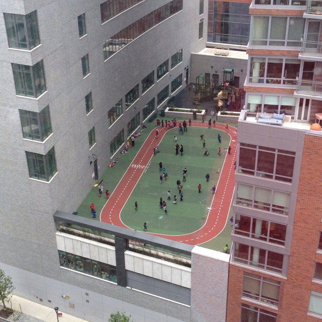 Rooftop track, Battery Park, NYC! Would love to see this in person!