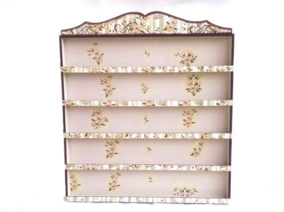 Nail Polish Wooden Rack/Organizer Flowers by CLVLArtsBrazil, $99.00