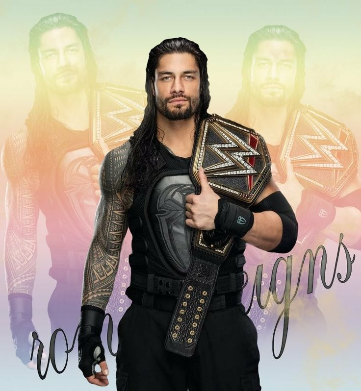 Roman Reigns Former WWE Champion