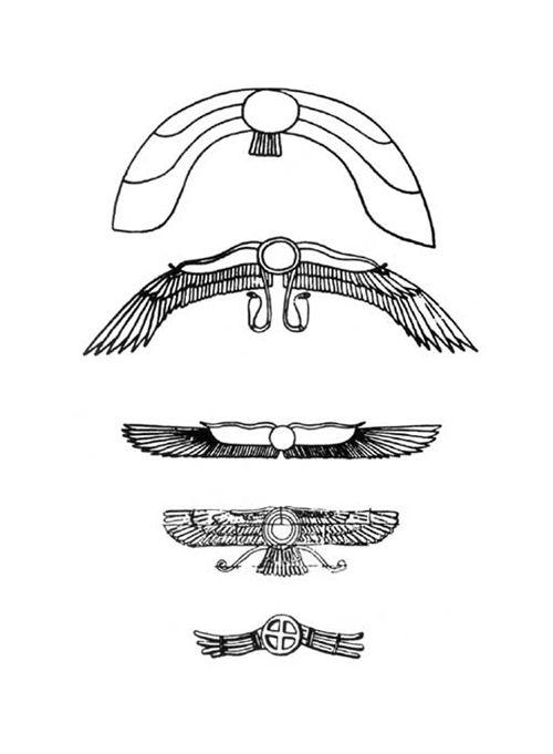 Ancient UFO symbols: