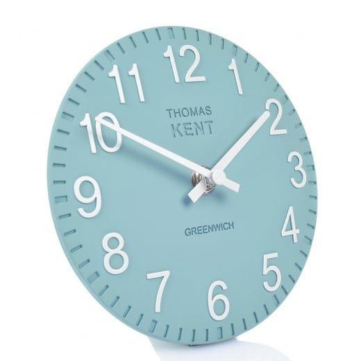 Thomas Kent Clocks Cotswold Mantel Clock - Teal