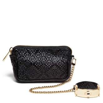VIDA Leather Statement Clutch - Sinner by VIDA KENO0