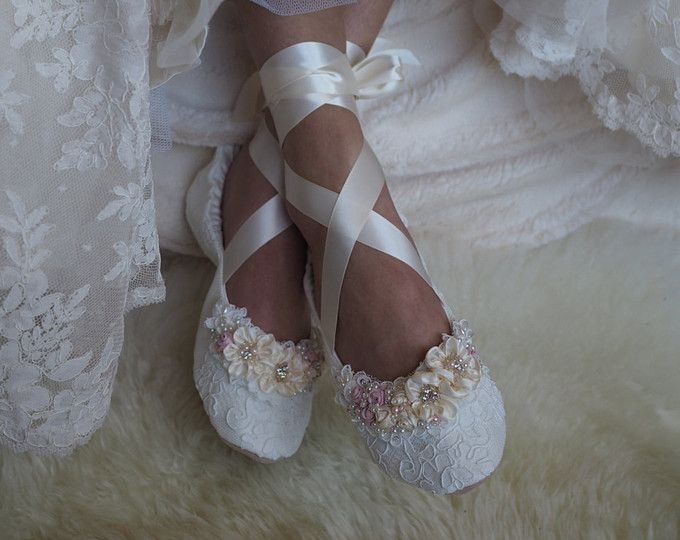 Princess Bridal Ballerina Slippers