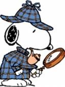 *PEANUTS ~ Sherlock Snoopy
