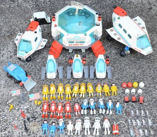 Playmobil Vintage Playmo Space Massive Collection 3 KG Astronauts | eBay