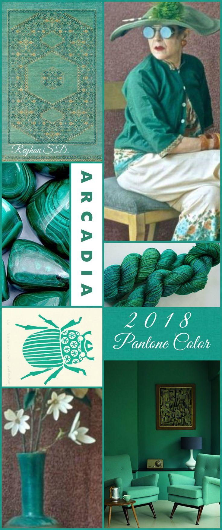 ' Arcadia- 2018 Pantone Color '' by Reyhan S.D