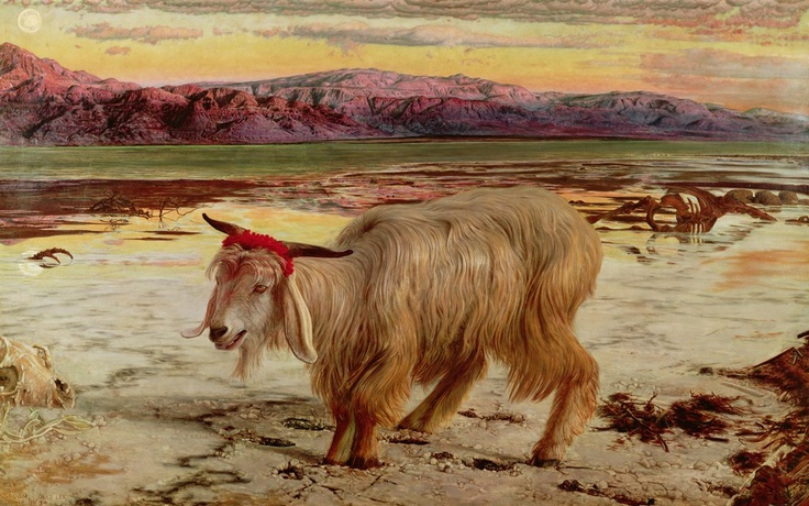 The Scapegoat, by William Holman Hunt