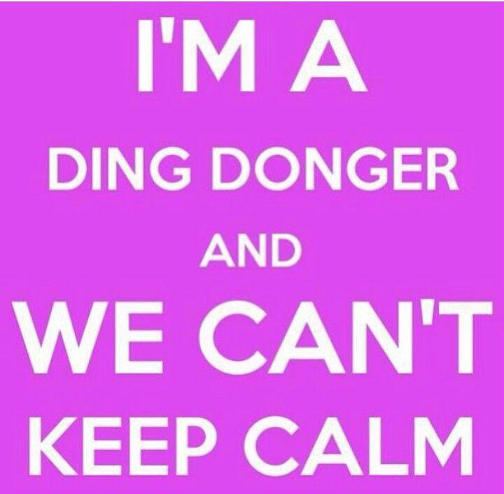 Ding donger ☺