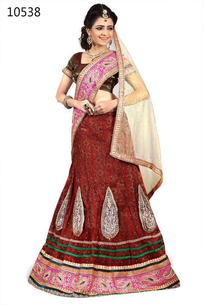 Wedding Indian Lehenga Bridal Choli Pakistani Bollywood Ethnic Traditional Ami  #KriyaCreation #DesignerLehengaCholi