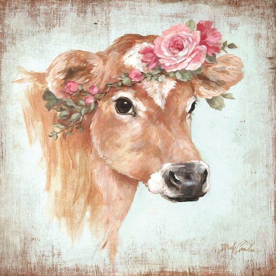 Открытки коровы, открытки день