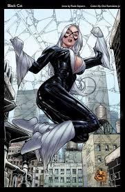 Resultado de imagem para black cat marvel comics