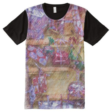 Present wall All-Over-Print shirt - click to get yours right now!