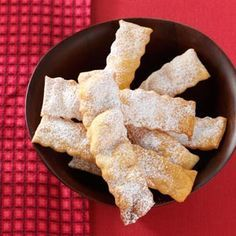 Italian Cenci Cookies - reminds me of something my grandmother made