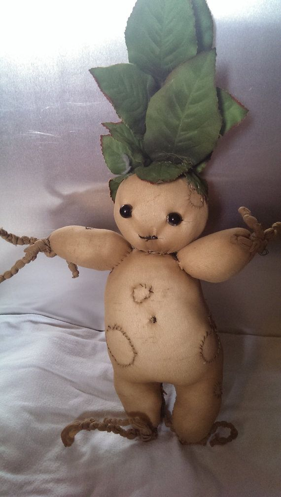 Mandrake Plushies- hilarious I know exactly how to make these :P thank you #girlguides