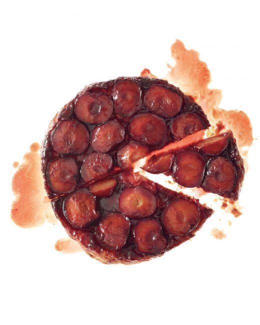 Plum Tarte Tatin - made this last week for lunch. Great with vanilla ...