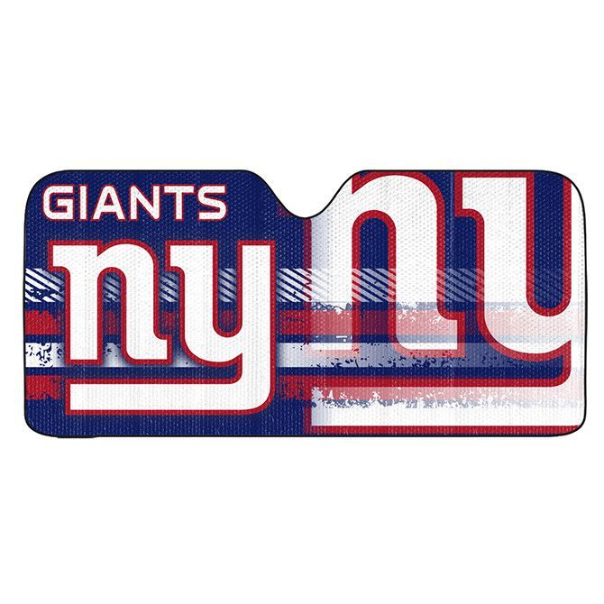New York Giants Auto Sun Shade Universal Size