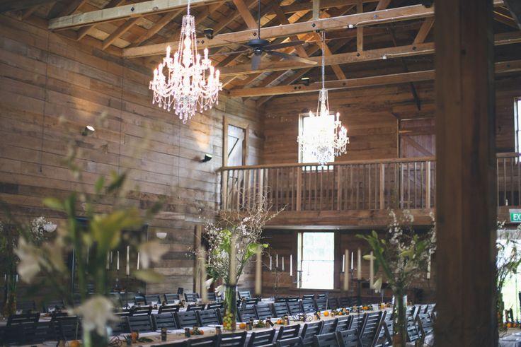 Lacewood Barn Interior - Wellington Wedding venue New Zealand