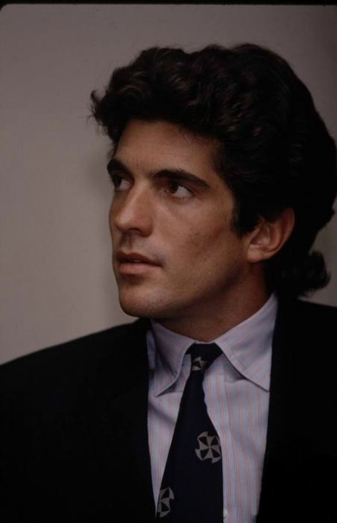 JFK Jr. You can really see how much he looks like Jackie in this photo.