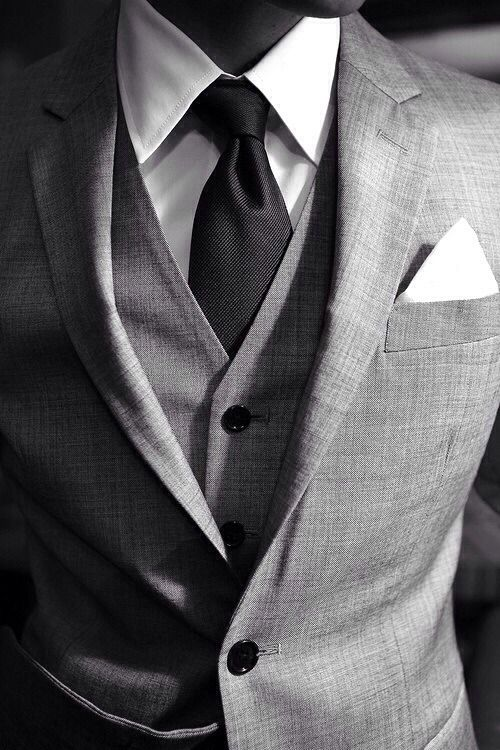 As long as I got my suit and tie.