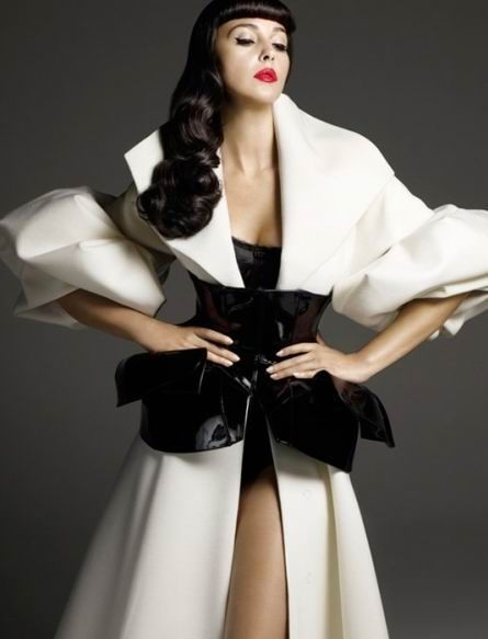 rouge those lips: Architectural Fashion