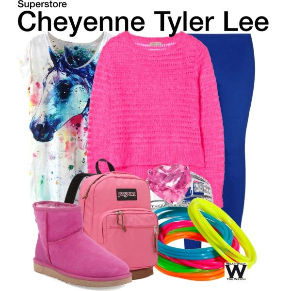 Inspired by Nichole Bloom as Cheyenne Tyler Lee on Superstore