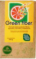 Fórmula balanceada de fibras solubles e insolubles con Spirulina, Clorofila y prebióticos. | Naturela