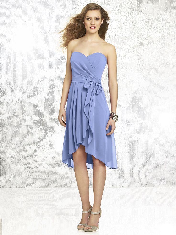 Periwinkle bridesmaid dress wedding dream things for Periwinkle dress for wedding