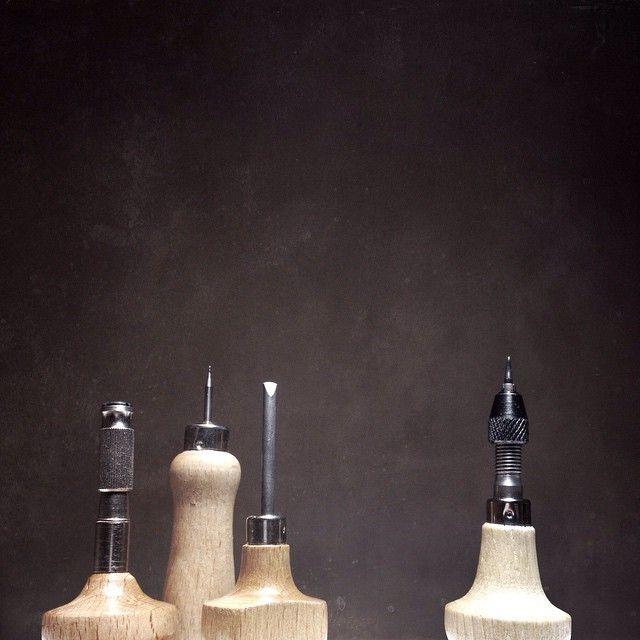"@sdorphjensen's photo: ""Tiny Tool Skyscrapers. #stonesetting #jewellers #tools"""