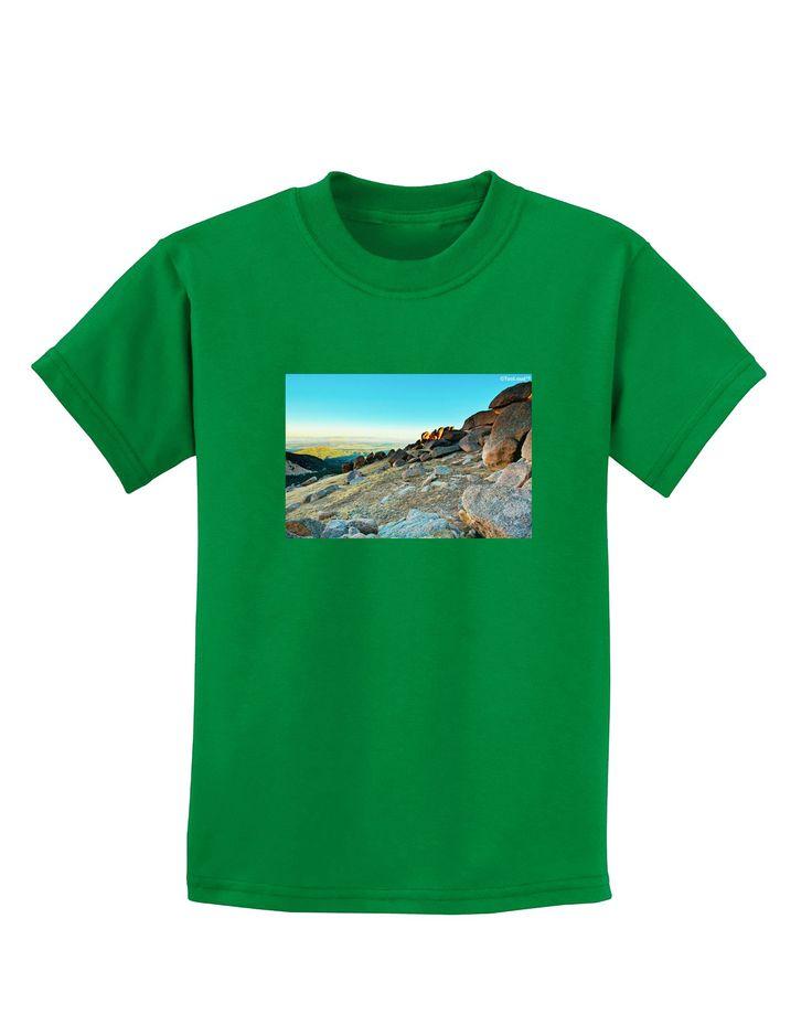 CO Rockies View Childrens Dark T-Shirt