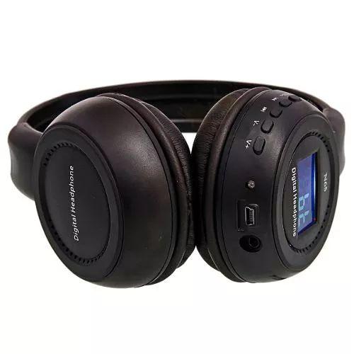 fone de ouvido headphone sem fio micro sd usb fm bluetooth s