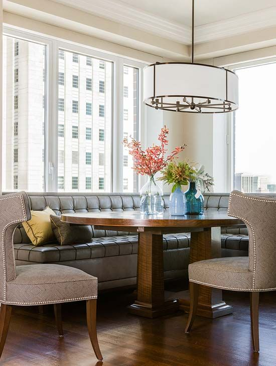 Love This Banquette. Back Bay Residence   Contemporary   Dining Room    Boston   Terrat Elms Interior Design