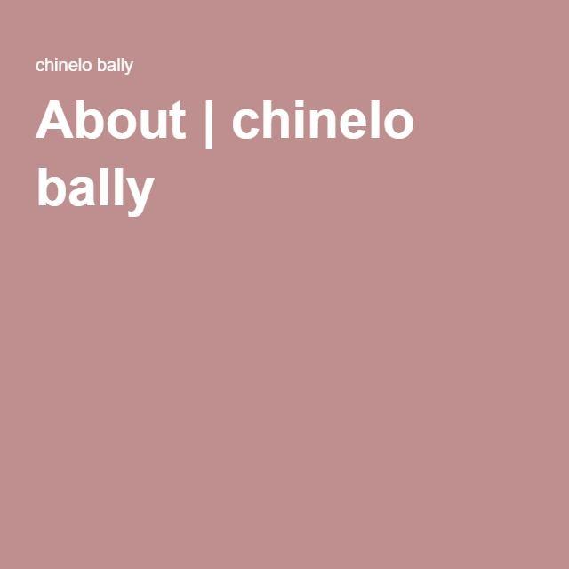 About | chinelo bally