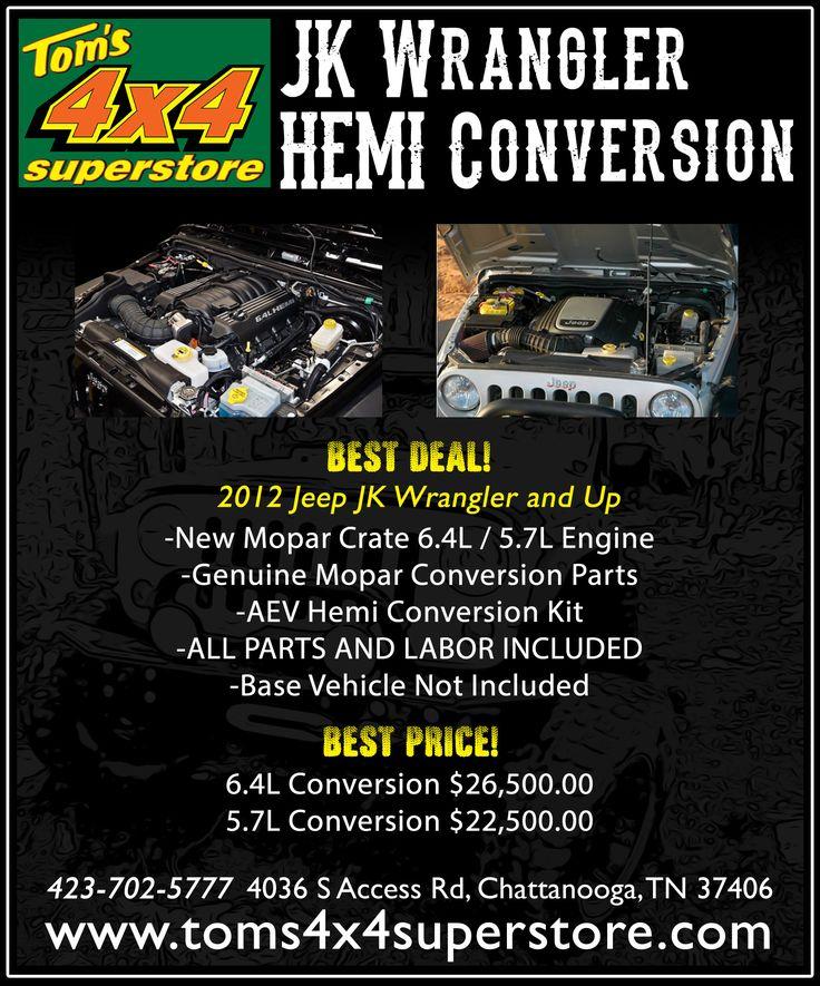 Pre Owned 2016 6 4l Hemi Brute Double Cab Conversion Black Jeep
