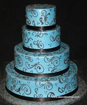 blue and brown wedding cakes 114 best blue amp brown wedding images on blue 11942
