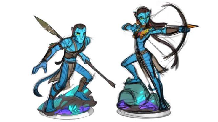 Cancelled #Avatar #DisneyInfinity Concept Art Revealed