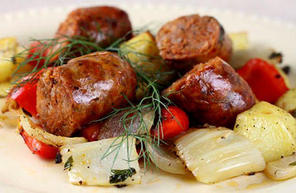 Italian Food Forever » Umbrian Sausage Bake