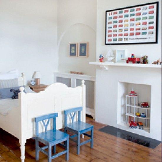 Kinderzimmer Wohnideen Möbel Dekoration Decoration Living Idea Interiors home nursery - Moderne Zimmer mit Jungen bemalte Möbel