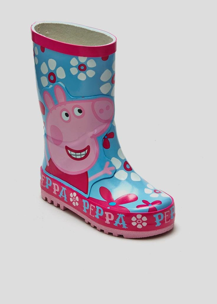 Kids Peppa Pig Wellies (Younger Kids 4-12)