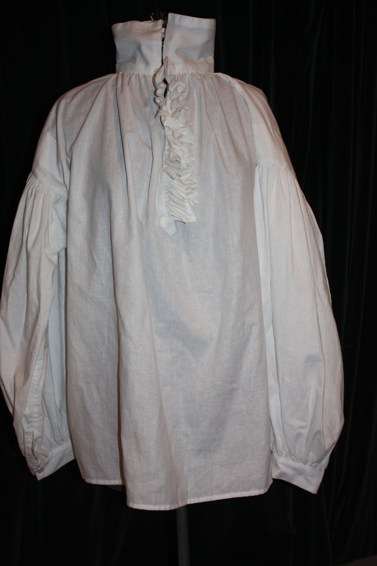 DIY man's Regency shirt, although this free pattern can be easily adapted for anything from Renaissance to early Edwardian.
