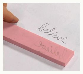 how to make a rubber stamp word