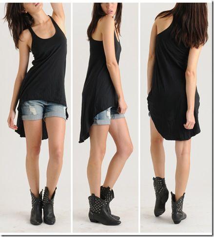 Best 25+ No sew tank ideas only on Pinterest | Diy shirt cutting ...