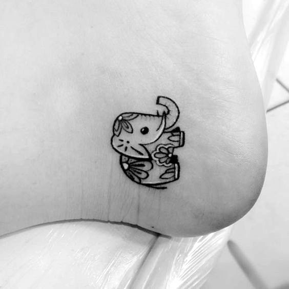 85 Cute Tiny Tattoos For Girls