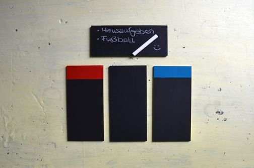 DIY: Magnettafeln