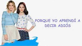 Violetta 3 - Aprendi a decir adios - (Lyrics) - YouTube