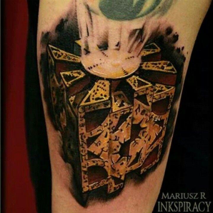 hellraiser cube tattoos pinterest tattoo and tatting. Black Bedroom Furniture Sets. Home Design Ideas