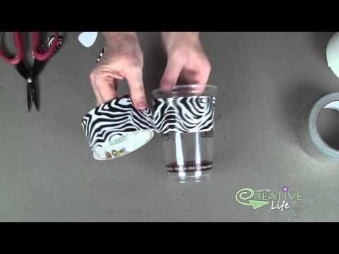 DIY Duct Tape Earrings by The Creative Lady - YouTube
