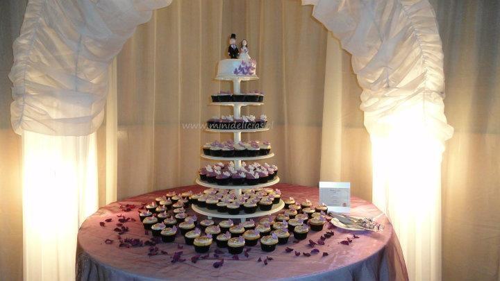Torre de Cupcakes.