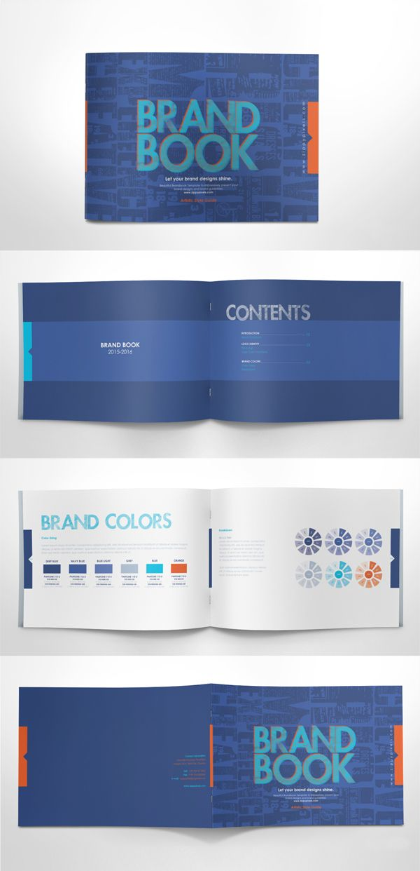 Free Brand Guidelines Template #freepsdfiles #freepsdgraphics #freepsdmockups…