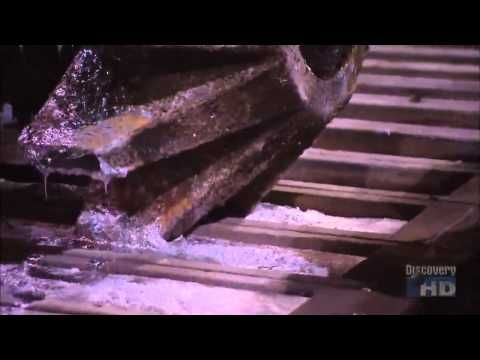 How It's made: Recycling Car Battery HD - YouTube