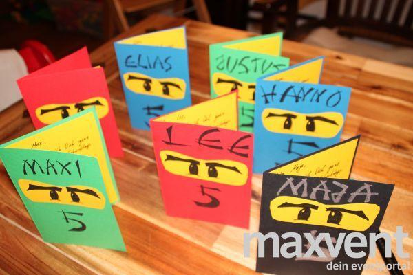 Ninjago Einladung Basteln: Die 25+ Besten Ideen Zu Ninjago Einladungskarten Auf